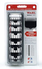 Wahl Professional Nylon Attachment Comb-Set - 8 St.  / Black